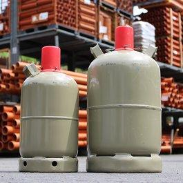 Propan - 5kg - in der Tauschflasche